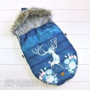 hand made dla dziecka śpiworek zimowy królowa