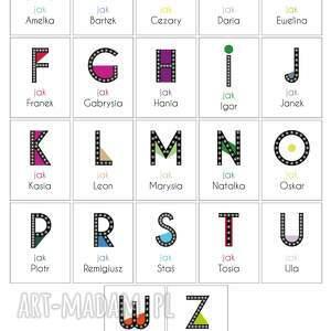 litera dla dziecka świecąca r z imieniem