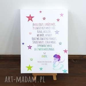 dla dziecka świecący obraz personalizowany