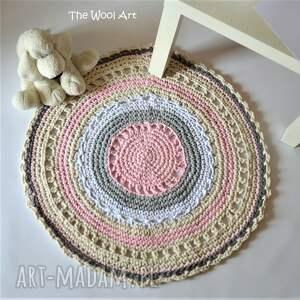 The Wool Art hand made dla dziecka dywanik sznurkowy