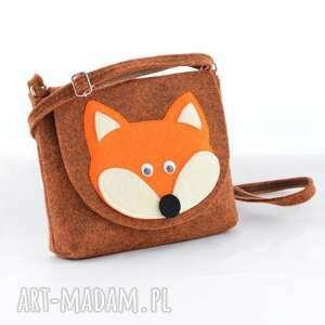 oryginalne dla dziecka lis torebka została wykonana z grubego, mocnego