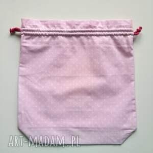 różowe dla dziecka worek na wszystko przedszkolaka