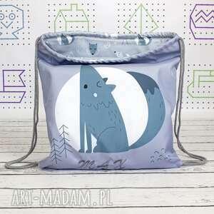 worek dla dziecka niebieskie plecak - niezbędnik przedszkolaka