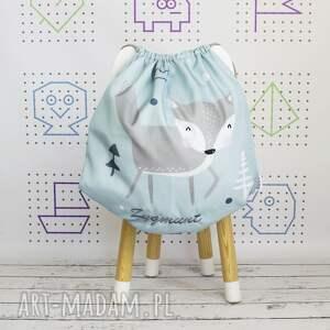 dla dziecka wodoodporny worek z imieniem lis