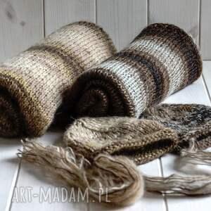 dla dziecka na drutach zestaw do sesji nb, czapeczka