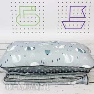 pomysły na upominki świąteczne zestaw dla dziecka kocyk i płaska poduszka