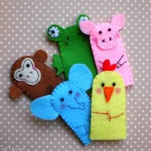 Barbara dla dziecka zabawki zwierzaczki pacynki