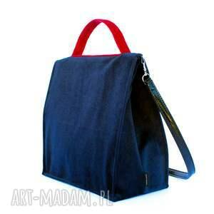 trendy do ręki kufer bbag midnight blue