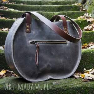 skórzana torebka idealna torba do biura na dokumenty