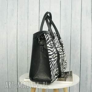 intrygujące zebra klasyczna torebka w stylu