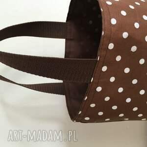 brązowe do ręki kanapki lunch bag by wkml brązowa - duże