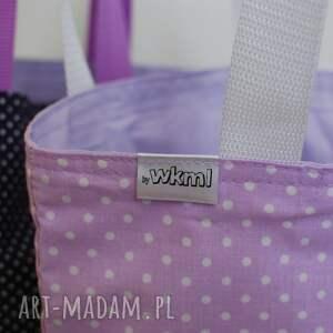 fioletowe śniadaniówka lunchbag by wkml jagodzianka
