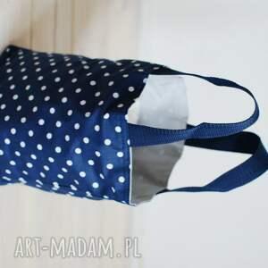 ręcznie zrobione do ręki lunch lunchbag by wkml rain drops