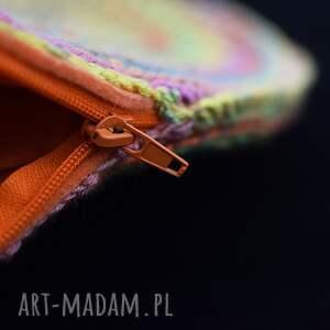 intrygujące wiosenna kolorowa torba ażurowa