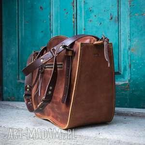 ręcznie szyta robiony kuferek torba