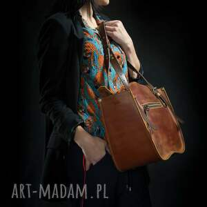 Ladybuq Art Studio ręcznie robiony kuferek torba torebka ładybuq art skórzana solidna wytrzymała unikalna