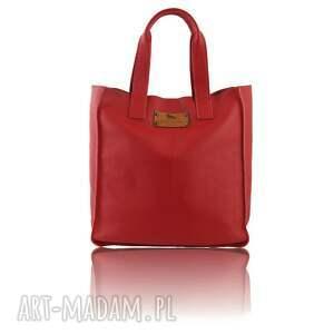 ręcznie wykonane do ręki skóra skórzana torebka shopper bag -50%