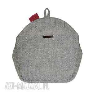 torebki do ręki 04-0004 szara torebka kopertówka