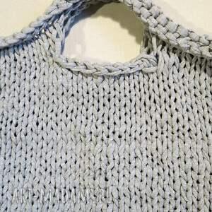 wyjątkowe do ręki duża torba industrial z eco-bawełny