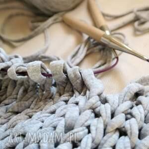 wyjątkowe do ręki torba industrial z eco-bawełny