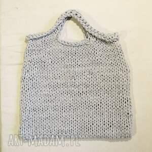 duża do ręki torba industrial z eco-bawełny