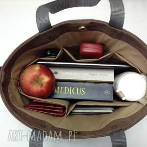 torebka brązowe torba do ręki