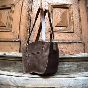 torba damska torebka ręcznie wykonana kuferek