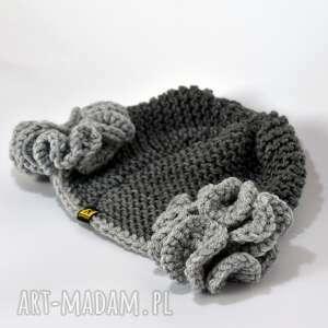 BARSKA dodatki: komplet - czapka i szal w szarościach prezent