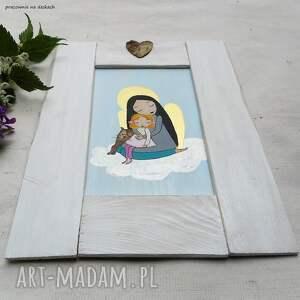 szare prezent anioł stróż