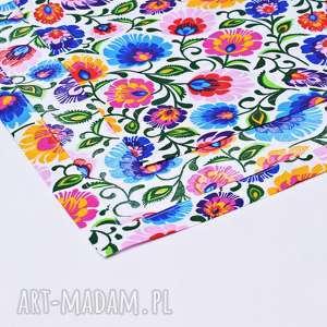 serweta dom bieżnik uszyty z bawełny 100% z wzorem