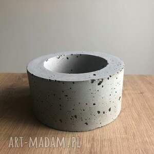 betonowa dom doniczka szara