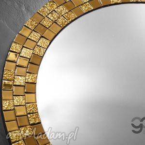 dom lustro duże okrągłe dekoracyjne