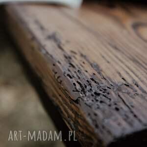 dom stare drewno industrialna ławka wykonana
