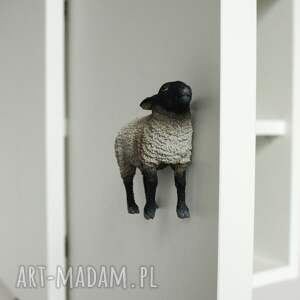 dom owca komplet 2 szafek nocnych beee