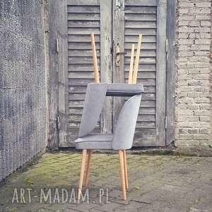 frapujące dom krzesło muszelka kolor szary