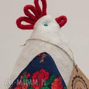Art Anette niebieskie dom kurka kura kokoszka