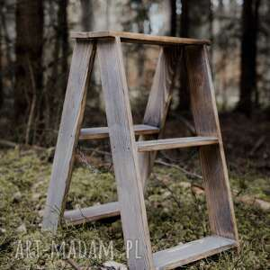 dom skandynawski mała drabinka skandynawska / stołek