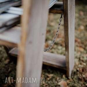 dom vintage mała drabinka skandynawska / stołek
