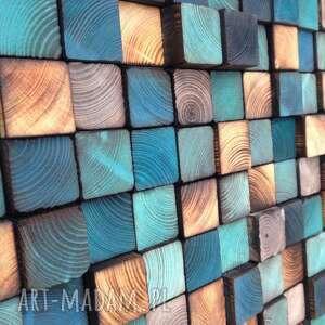 handmade dom mozaika drewnianan na zamówienie