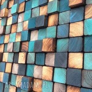 handmade dom drewniana mozaika drewnianan na zamówienie