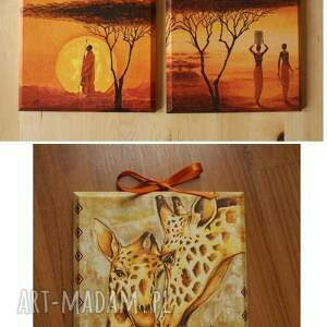 dom obrazek - african sunset