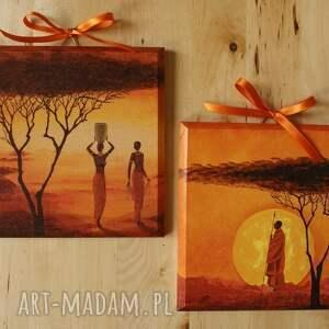 oryginalne dom obraz obrazek - african sunset