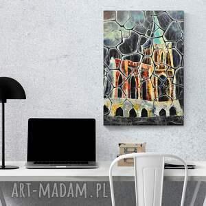 zamek dom opactwo bukowiec 35x50 cm