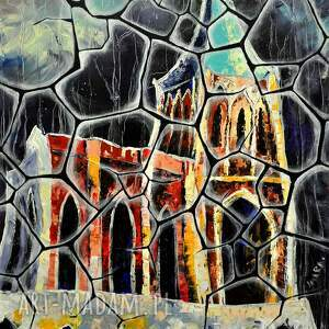 dom zamek opactwo bukowiec 35x50 cm