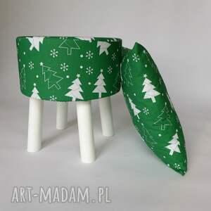 pomysł na święta prezent pokrowiec fjerne zielona choinka