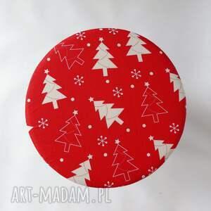 pomysł na prezent święta dom pokrowiec fjerne czerwona choinka