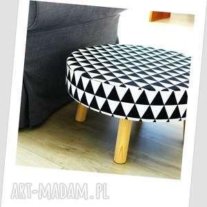 białe dom stolik stołek fjerne xl