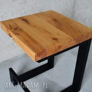 brązowe dom stolik stołek / el, dąb