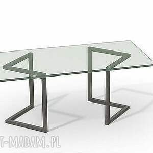dom industrialny stolik swala szkło
