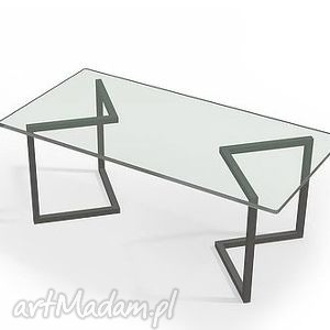 industrialny dom stolik swala szkło